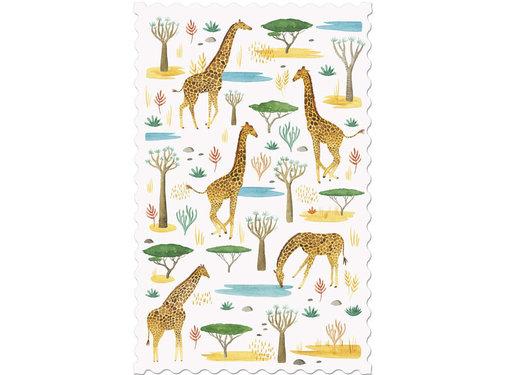 Londji Postcard Giraffes