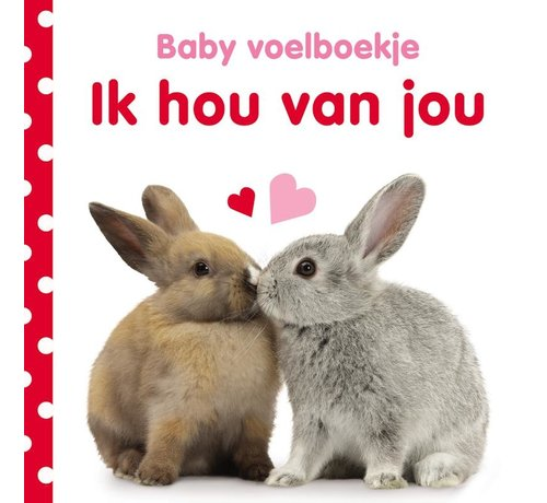 Veltman Uitgevers Baby voelboekje Ik hou van jou