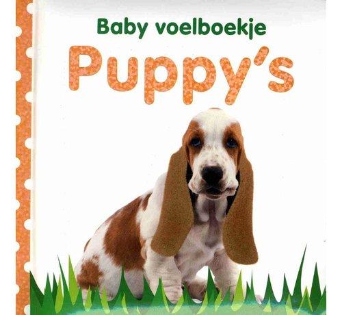 Veltman Uitgevers Baby voelboekje Puppy's