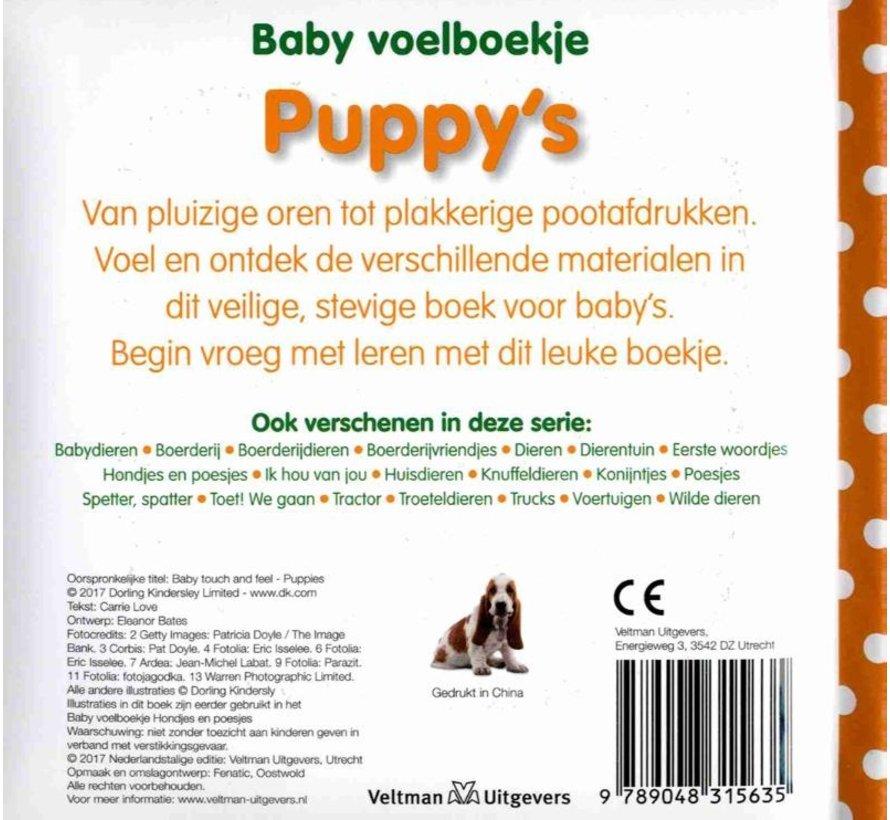 Baby voelboekje Puppy's
