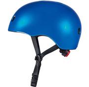 Micro Step Helm Deluxe Blauw Metallic