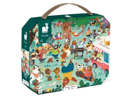 Janod Puzzle Family Bears 54 pcs
