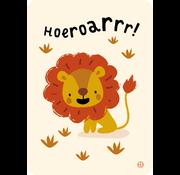 Bora Postkaart Jungle Hoeroarrr