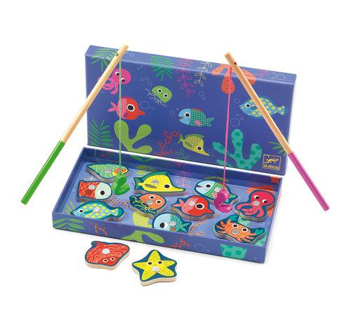 Djeco Hengelspel Fishing Colour