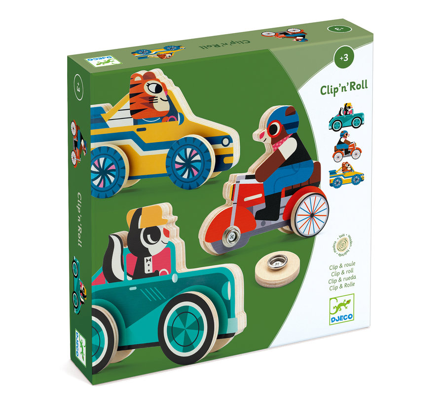 Puzzel Auto Clip'n' Roll