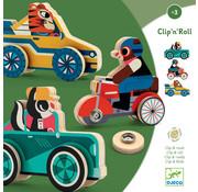 Djeco Puzzel Auto Clip'n' Roll