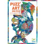 Djeco Puzzel Art Zeepaardje 350 pcs