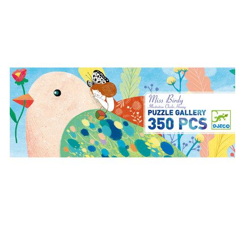 Djeco Puzzel Art Miss Birdy 350 pcs