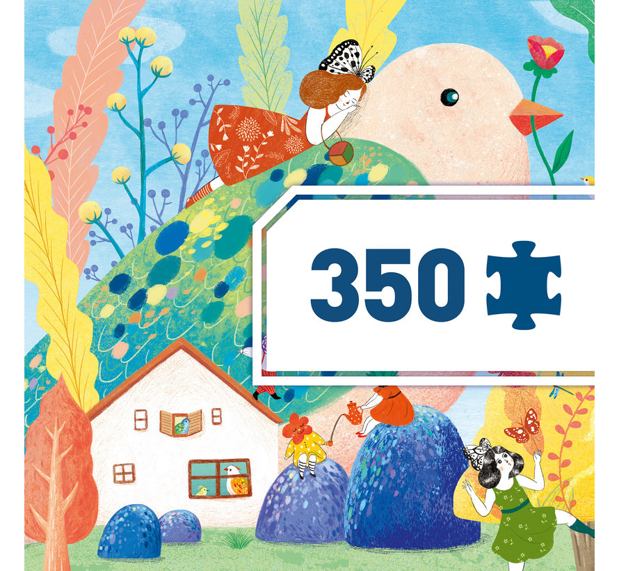 Puzzel Art Miss Birdy 350 pcs