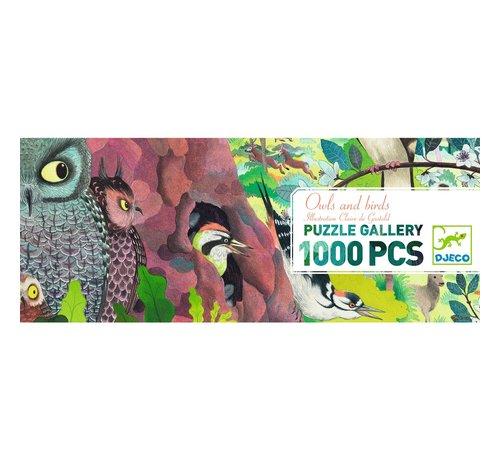 Djeco Puzzel Owls and Birds 1000 pcs