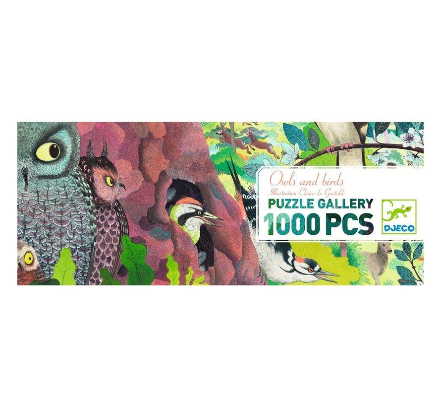 Puzzel Owls and Birds 1000 pcs