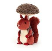 Jellycat Knuffel Eekhoorn Fungi Forager Squirrel