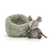 Jellycat Knuffel Muis Hibernating Mouse