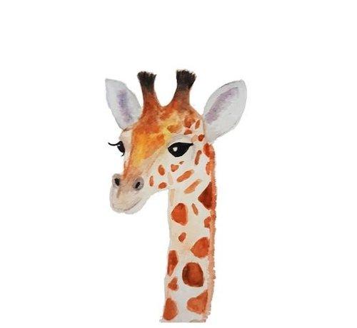 Fritsy Postkaart Giraffe