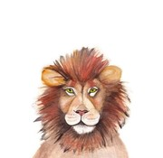 Fritsy Postkaart Leeuw