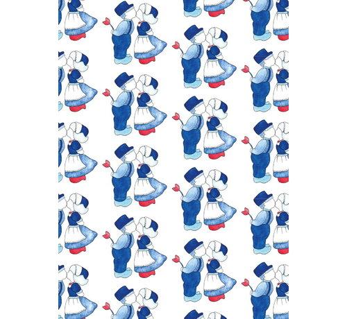 Fritsy Postkaart Delfts Blauw