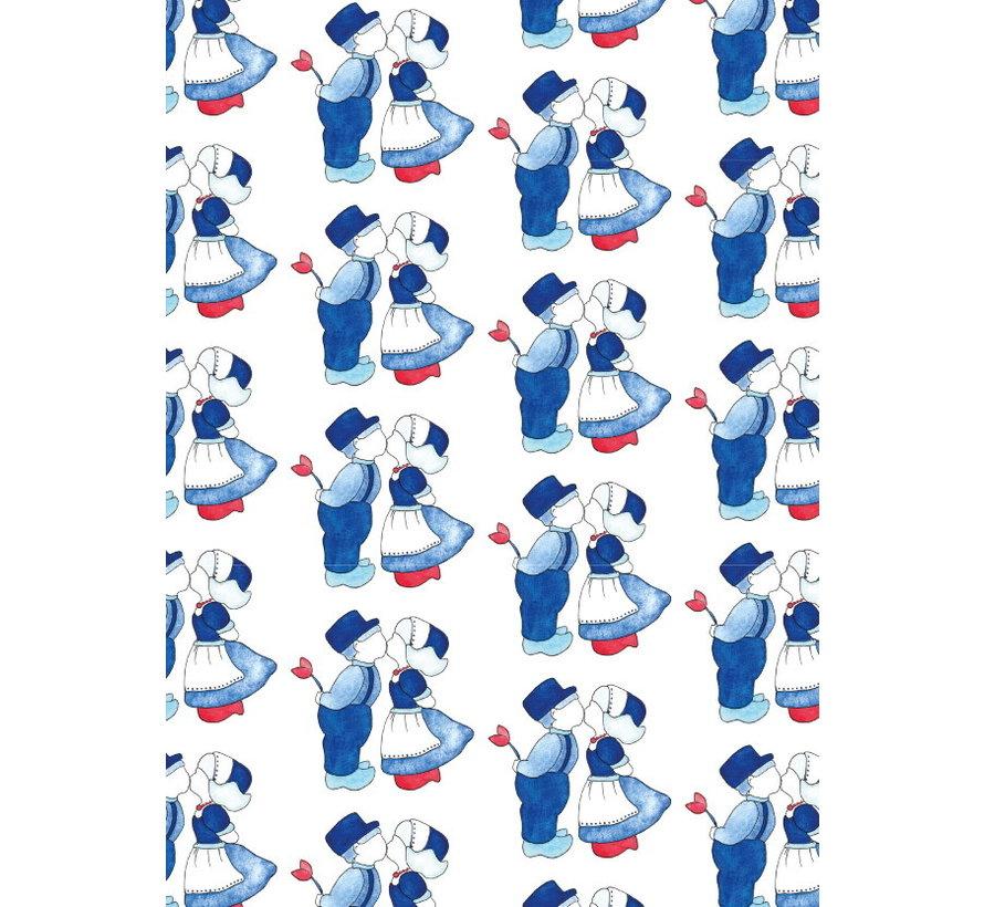 Postkaart Delfts Blauw