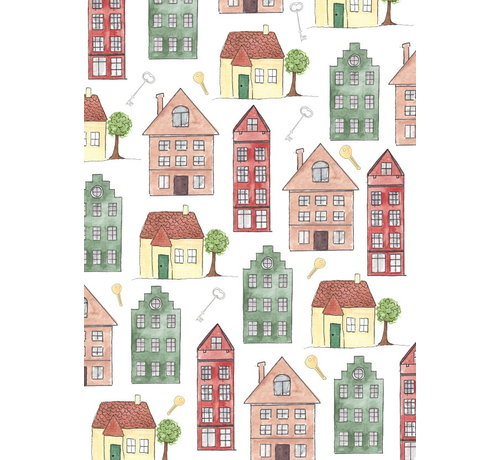 Fritsy Postkaart Huizen