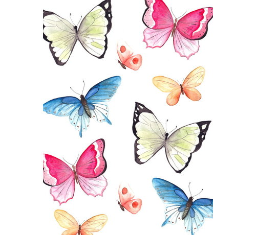Fritsy Postkaart Vlinders