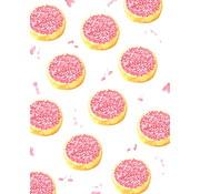 Fritsy Postkaart Beschuit met Muisjes Roze