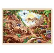GOKI Puzzle Dinosaur Excavation Site 192 pcs