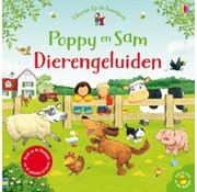 Uitgeverij Usborne Poppy en Sam Dierengeluiden
