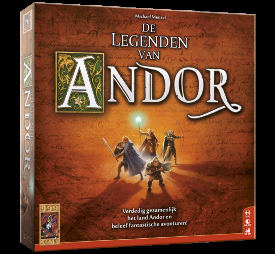 De legenden van Andor Basisspel