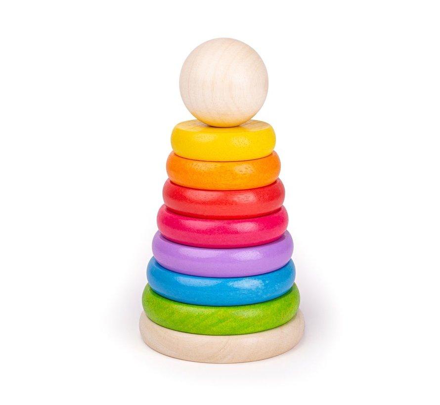 Stapeltoren Regenboog