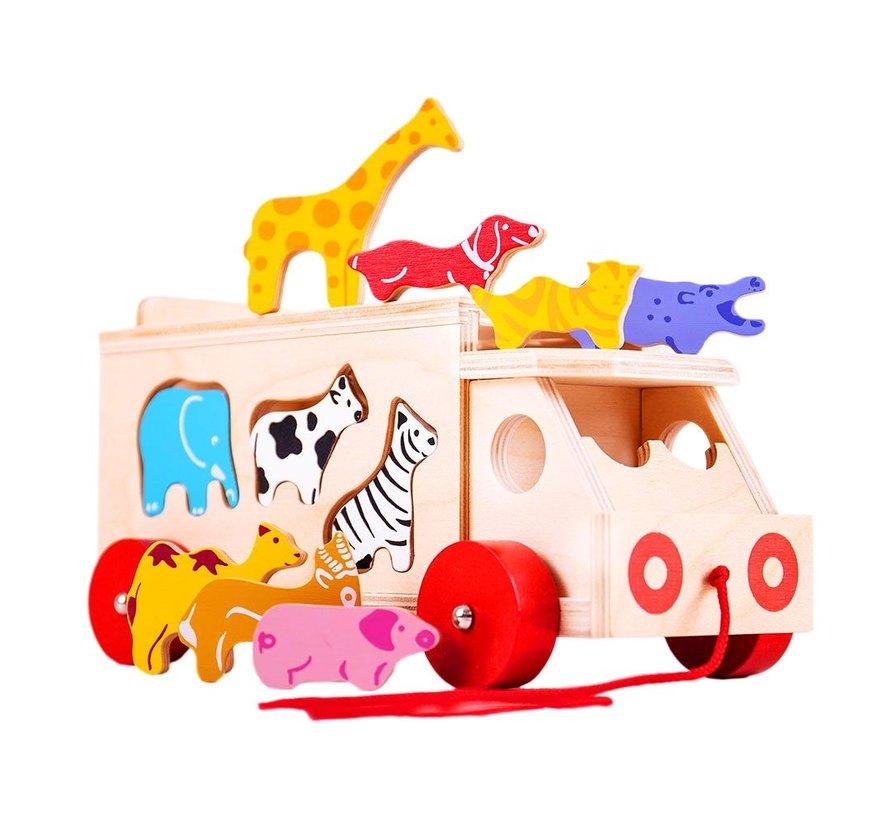 Vormensorteerder Vrachtwagen met Dieren