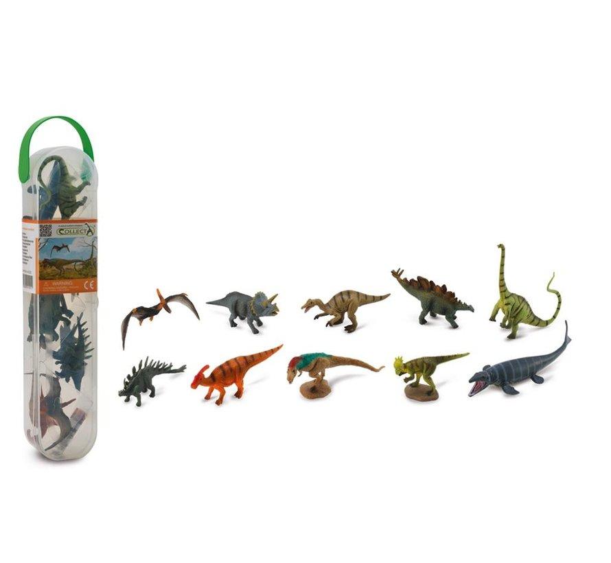 Dinosaurussen Set 10-delig