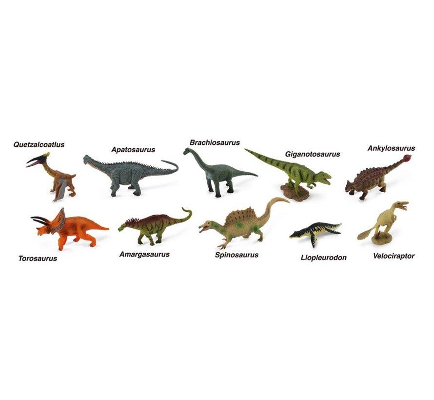 Dinosaurussen Set-2 10-delig