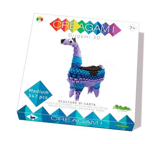 Creagami Origami Lama 3D M