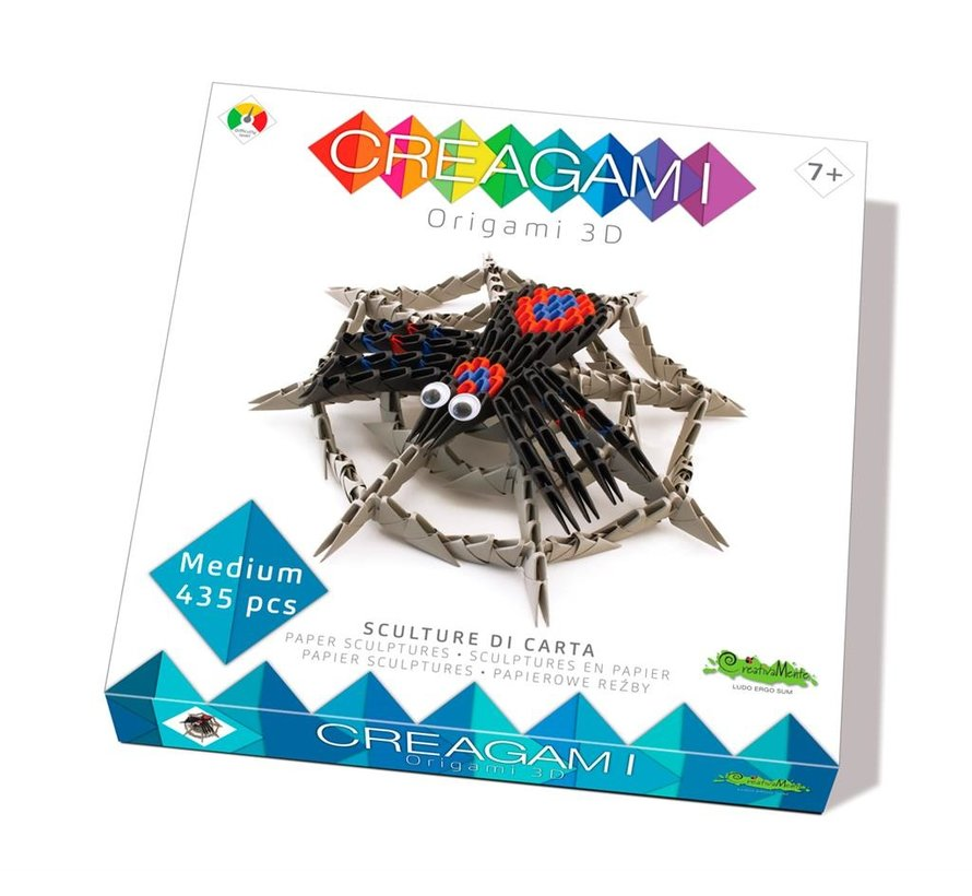 Origami Spin met Web 3D M
