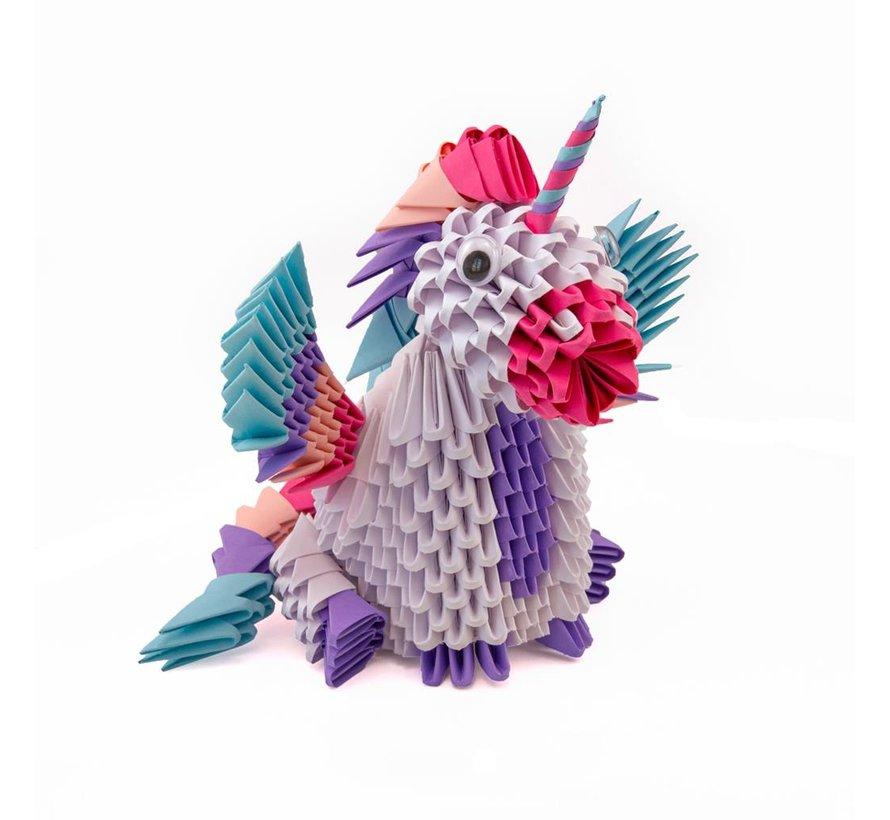 Origami Eenhoorn 3D L