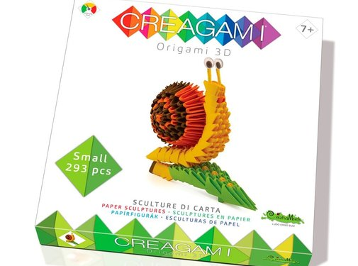 Creagami Origami Slak 3D S