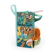 Jellycat Knisperboek Staartenboek Garden Tails