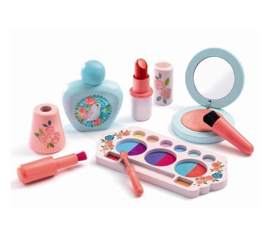 Make-Up Set Vogel in Doosje