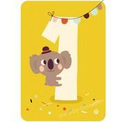Bora Kaart met Envelop 1 Koala