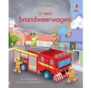 Uitgeverij Usborne Kijk binnen In een brandweerwagen