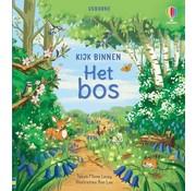 Uitgeverij Usborne Kijk binnen Het bos