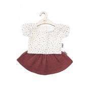 Hollie Poppenrok en Shirt Blush Sweet Dots