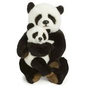 WWF Knuffel Panda Moeder en Kind 28 cm