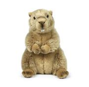 WWF Knuffel Marmot Zittend 23 cm