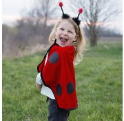 Great Pretenders Toddler Lady Bug Cape and Headband