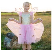 Great Pretenders Gold Butterfly Dress with Fairy Wings