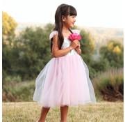 Great Pretenders Silver Sequins Princess Dress Size 3-4