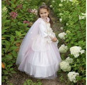 Great Pretenders Golden Rose Princess Cape Size 5-6