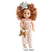 Paola Reina Doll Soy Tu Becca with Teddy 42 cm