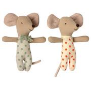 Maileg Baby Mice Twins in Matchbox 8 cm