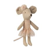 Maileg Ballerina Mouse Little Sister 10 cm